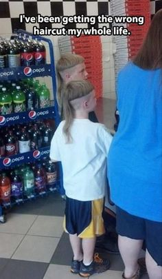 THESE PARENTS NEED TO BE SLAPPED....HARD. kid in my class had a rat tail the boys in my class cut it off the first day of school