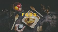 Food Powerpoint by Zin Studio on @creativemarket