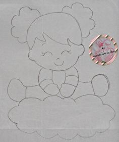 Feltro Fácil - Moldes e Apostilas Felt Crafts, Fabric Crafts, Diy And Crafts, Arts And Crafts, Applique Patterns, Doll Patterns, Baby Embroidery, Embroidery Designs, Decoration Creche