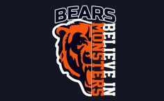 Love my bears Chicago Bears T Shirts, Nfl Chicago Bears, Bears Football, Football Memes, Chicago Illinois, Chicago Blackhawks, Football Baby, Chicago Cubs Pictures, Chicago Bears Wallpaper
