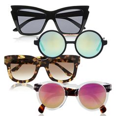 Springtime is in the air with beautifully sun filled mornings, so what better time to make your first summer purchase  and snap up a pair of statement sunnies.