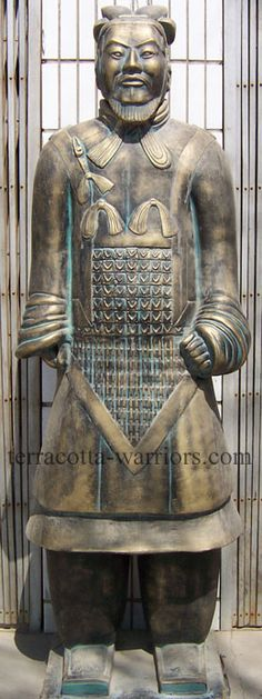 Terracotta Warriors: Replica Statues of Terra Cotta Army Soldiers - Bearded General (Powered by CubeCart)
