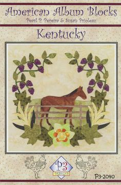 click here to view larger image of American Album - Kentucky Bluegrass State (PATTERNS)