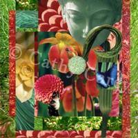 : Green Goddess by Cathy Carey ©2014 www.artstudiosandiego.com