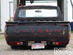 Slammed DATSUN pickup