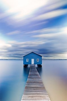 Boat Shed in Matilda Bay ~ Perth, Australia