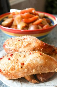 The Best Slow Cooker Chicken Ever