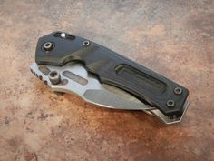 You're not bulletproof..., Dwaine Carrillo Knives - Tunnel Rat