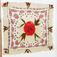 www.cikshome.com  felt&tulle handmade table cloth