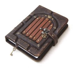 Leather journal leather notebook travel journal by AVworkshop