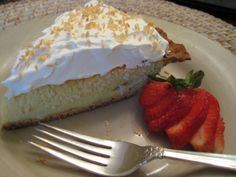 Peggy's Low Carb Coconut Pie with CarbQuick Crust