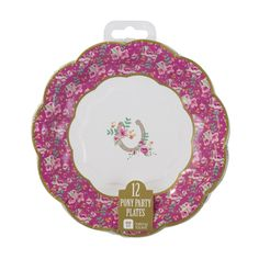 Cute, fun but elegant! Our Pony Party plates are an ideal addition to any pony…