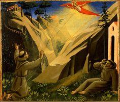 Fra Angelico (Italian, ca.1395-1455) ~ The Stigmatization of Saint Francis ~ Vatican Museums, Vatican City