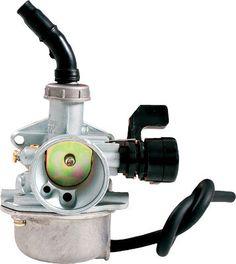 OUTSIDE - 4-STROKE CARBURETOR 19MM 50-125CC HORIZONTAL ENGINE pn# 39508