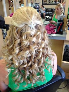 """See 1 photo and 3 tips from 18 visitors to Bella Donna Salon. """"Best salon in town beautiful decor recently remodeled and fabulous stylists that won't. Lorraine, Bridal Hair Up, Curls For Long Hair, Best Salon, Glam Hair, Up Hairstyles, Bridal Style, Your Hair, Stylists"""
