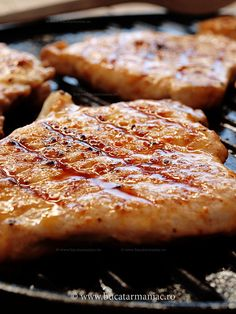 My Recipes, Cooking Recipes, Meat Steak, Romanian Food, Tapas, Main Dishes, Bacon, Roast, Bbq