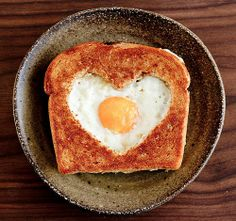 Make a special breakfast with your heart on Valentine`s Day
