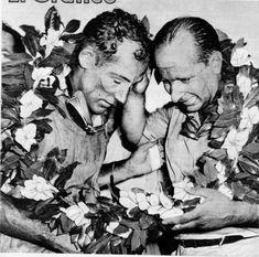 Juan Manuel Fangio & Moss.