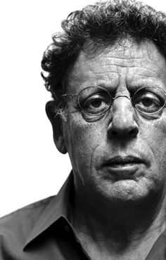 Philip Glass, American classical composer. I like his soundtrack scores.