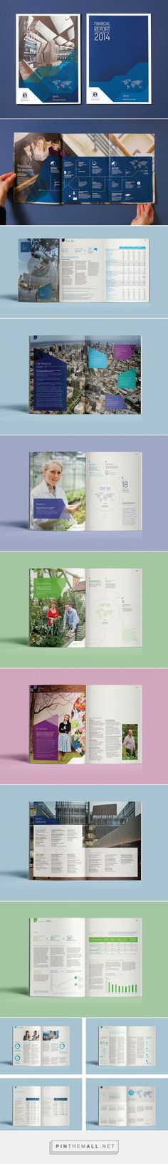 University of Melbourne Annual Report - Studio Binocular - created on Design Brochure, Booklet Design, Brochure Layout, Graphic Design Tips, Web Design, Layout Design, Annual Report Layout, Annual Reports, Annual Report Covers