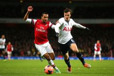 Arsenal 2-0 Tottenham Hotspur: Cazorla and Rosicky on target as Gunners reach fourth round