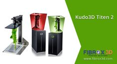 Kudo3D Titen 2! High resolution affordable LCD SLA printer for everyone.