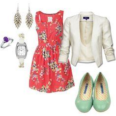 Summer dress --> work appropriate