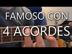 CON 4 ACORDES TE PUEDES HACER FAMOSO - YouTube Music For You, Guitar Chords, Guitar Lessons, Youtube, Musicals, Guitar Chords Pdf, Playing Guitar, Learning Guitar, Guitars