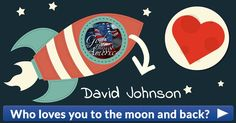 Who loves you to the moon and back?