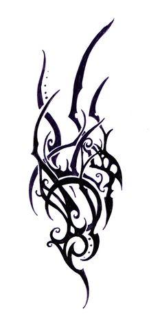 Photo category Elven tattoo at number description DeviantArt More Like Elven Tribal Tattoo Study 6 by Heart Tattoo Designs, Tribal Tattoo Designs, Tribal Tattoos, Tatoos, Elven Tattoo, Tattoo Fonts Generator, Font Generator, Tribal Wings, Celtic Cross Tattoos