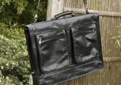 Black Suiter Style Holdall