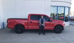 Jeffrey's new 2015 FORD F-150! Congratulations and best wishes from Landmark Chrysler Jeep Fiat and GARY PATE.