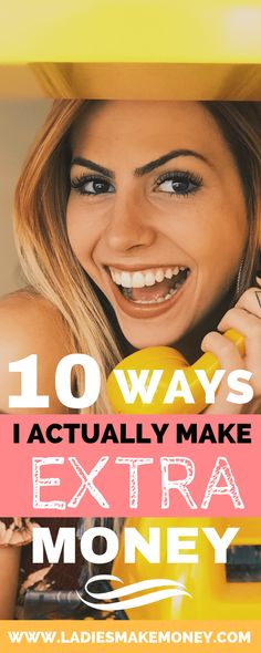 10 WAYS I actually make more money each month