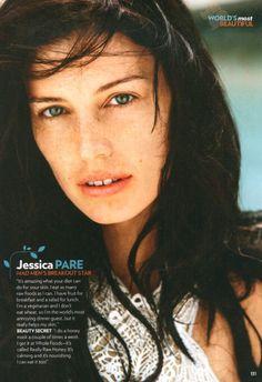 Mad Men's Jessica Pare (Megan Draper): No make-up.