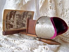 Antique Stereo Card Viewer Stereoscope by cynthiasattic on Etsy, $89.00