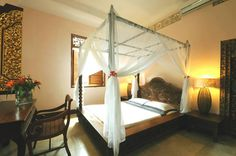 Think this will be my room at Honeymoon Guesthouses in Ubud, Bali..