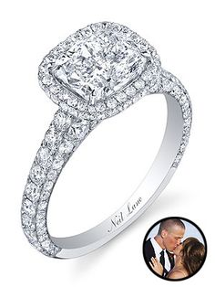 Another gorgeous ring from the bachelor...I think I only watch for the pretty clothing and jewelry