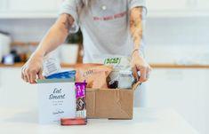 Noe for sjokolade-elskeren! Eat Smart, Paper Shopping Bag, Healthy Snacks, Health Snacks, Healthy Snack Recipes, Healthy Snack Foods