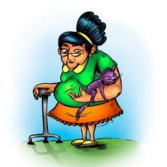 Character design / Abuela / Coloring - Cartoon  #coloring #cartoon #colors #cartoons #comic #comics #ilustracion #ilustraciones #ilustrador #ilustradores #colombia #cucuta #characterdesign #characters