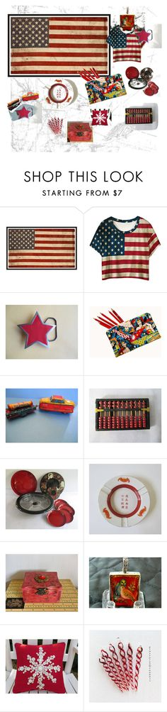 """Rock the Vote with some Etsy Style"" by suzannee43 ❤ liked on Polyvore featuring Pottery Barn, rockthevote, integrityTT, TintegrityT and EtsySpecialT"