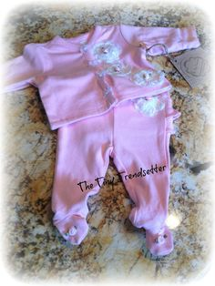 Reversible Baby Girl Take Me Home  Outfit 2 by TheTinyTrendsetter, $32.00