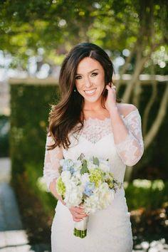 LuLu's Bride, Charley in a Pronovias wedding gown! Gown: Pronovias from LuLu's Bridal Boutique, Dallas, Texas | Photography: Caroline Jurgensen | Hair/Makeup: Natalia Issa | Floral: Dr. Delphinium