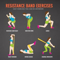 11pc set Fitness Resistance Bands, Sports, Gym, Strength Training, Yoga