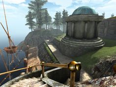 RealMyst for iPad.  Solve the mysteries of Myst Island.  An updated version of the original Myst game.