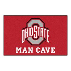 Ohio State Man Cave UltiMat Rug 5x8