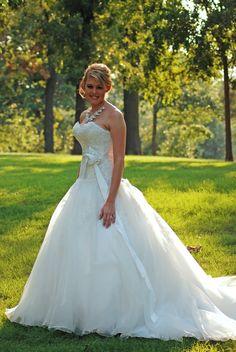 My wedding dress Maggie Soterro Claudette
