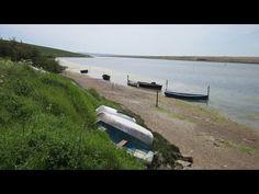 Fleet Lagoon, Jurassic Coast Walks In Dorset, England, UK
