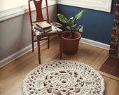 3' Giant Crochet Doily Rug