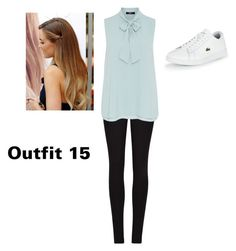 """""""Outfit 15"""" by samanthastyle-cdxxi ❤ liked on Polyvore featuring Winser London, Hallhuber, Lacoste and fashionset"""