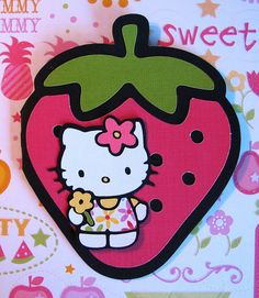 Cricut Hello Kitty Card.  *